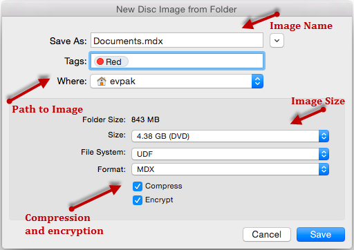 How to create an ISO image on Mac with DAEMON Tools