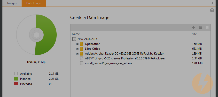 how to create an iso image from files using daemon tools ultra