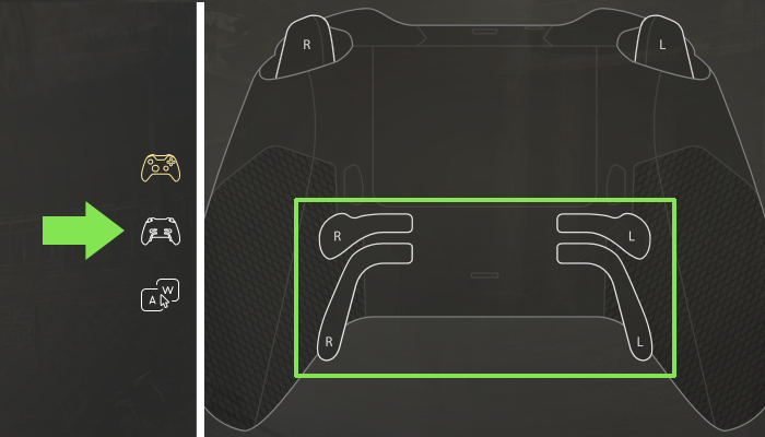 Xbox Elite paddles for PC gaming