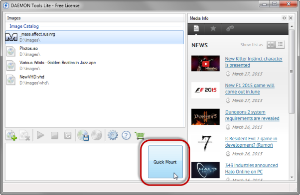 how to use daemon tools lite to install a game