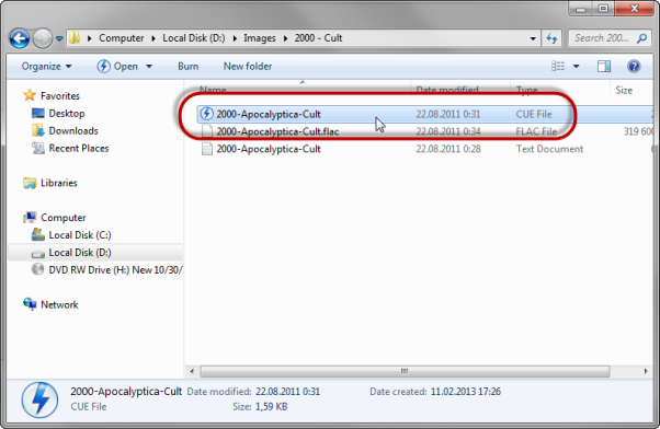 how to make disc image daemon tools