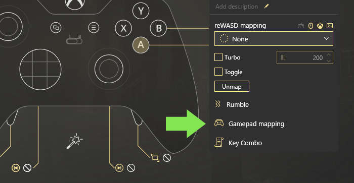 Map Controller to Keyboard Xbox Controller App reWASD
