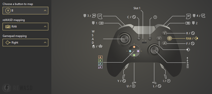 Map Xbox Controller to Keyboard on Windows 7 8 8.1