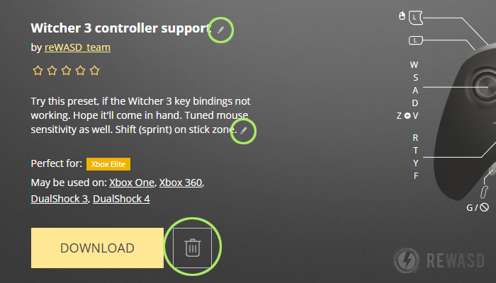 Map Controller to Keyboard and Use Xbox Controller as Mouse