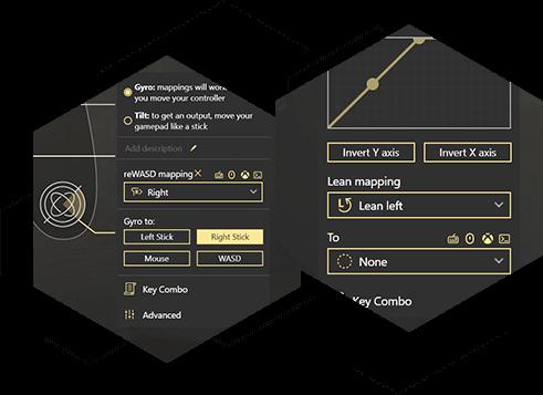 Use Switch Pro, Joy-Con and DualShock 4 gyroscope on PC
