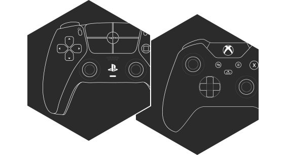 New generation of Xbox and PlayStation controllers