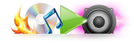 Audio CD burning features